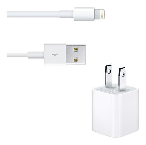 apple cargador + cable lightning 100% original para iphone