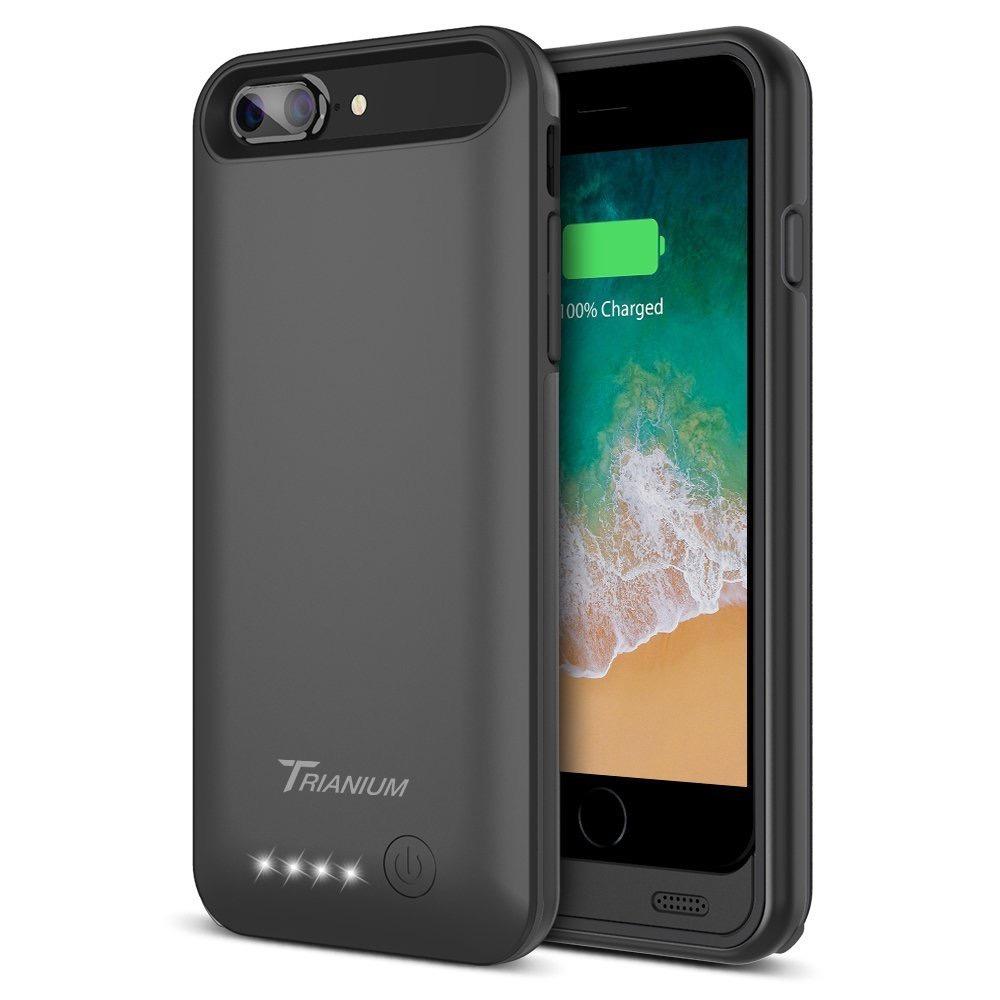 the latest c36a8 ba0b0 Apple Case iPhone 8 7 Plus Battery Trianium Atomic Pro 4200m