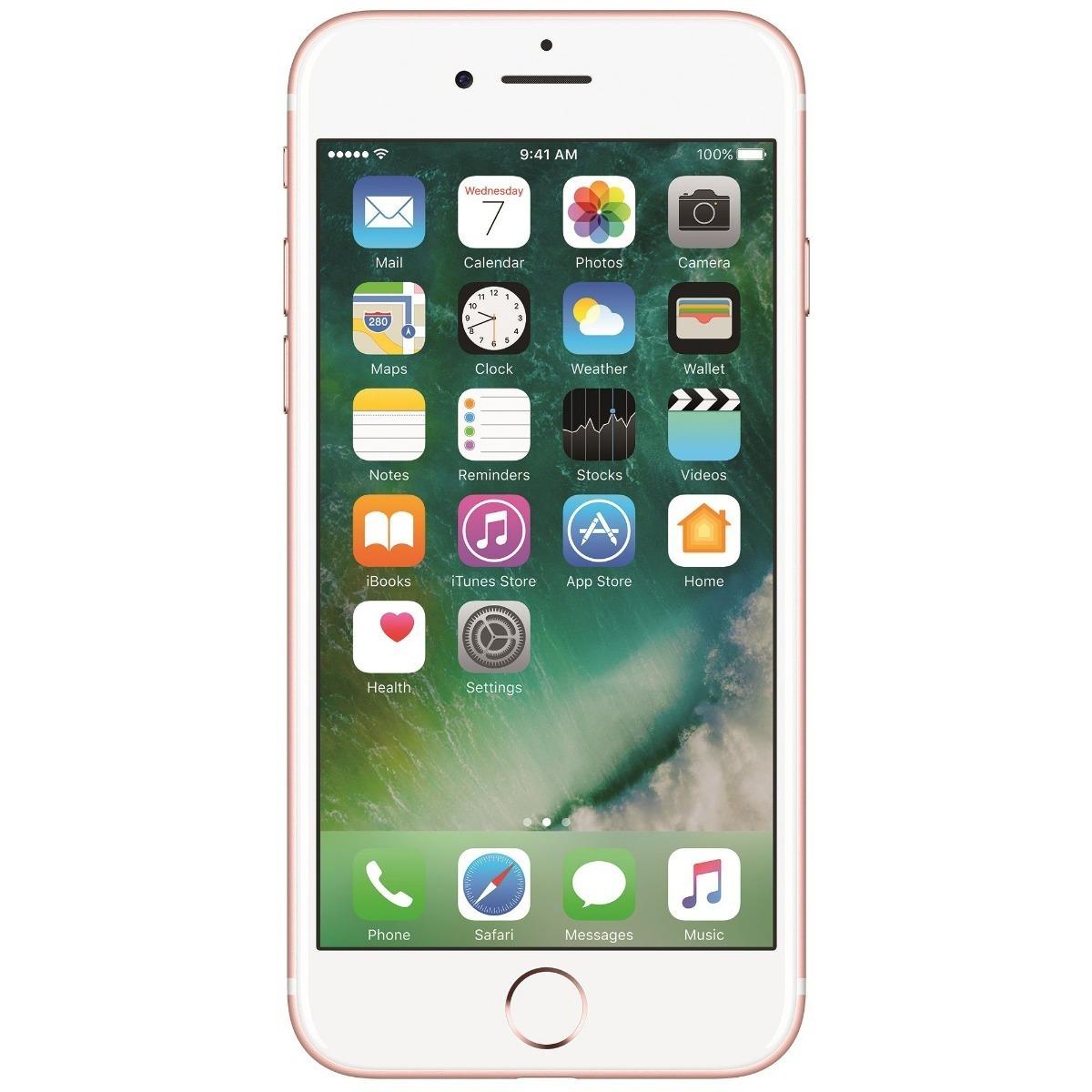 05159b02f51 Apple Celular iPhone 7 32gb Rosa Gold Nuevo - $ 7,599.00 en Mercado ...