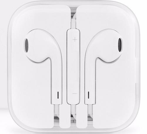 apple earpods audífonos originales con mando y micrófono