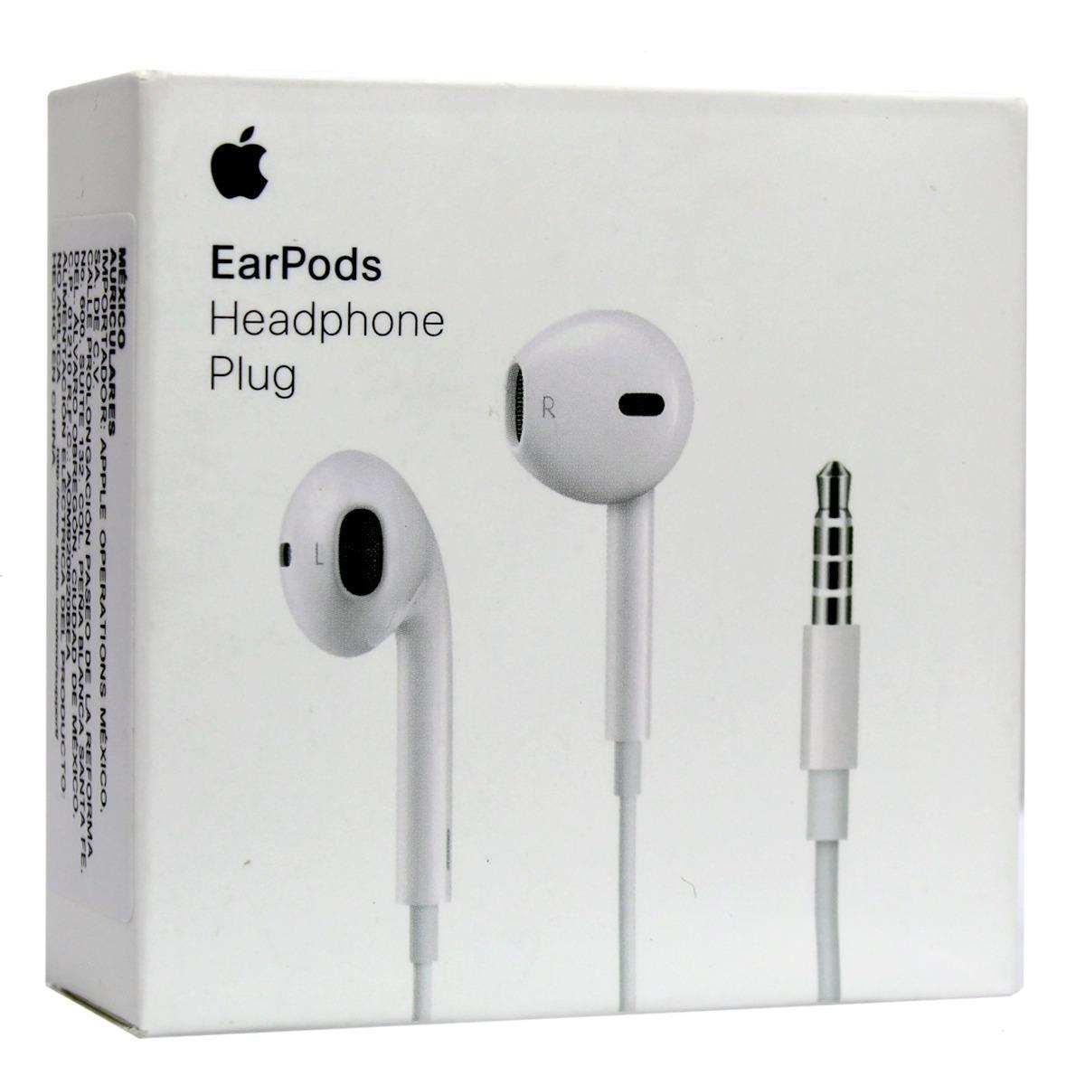 655f889d7d4 Apple Earpods Con Jack De 3.5mm - $ 320.00 en Mercado Libre