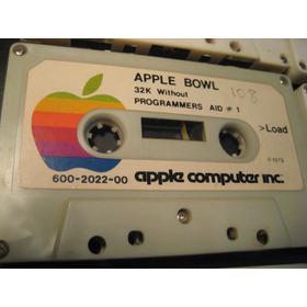 Apple Ii Colección Antiguos Cassettes Año '79 Atari Nintendo