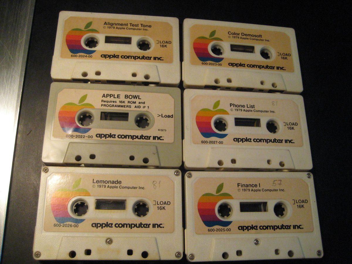 Apple Ii Coleccion Antiguos Cassettes Ano 79 Atari Nintendo 960