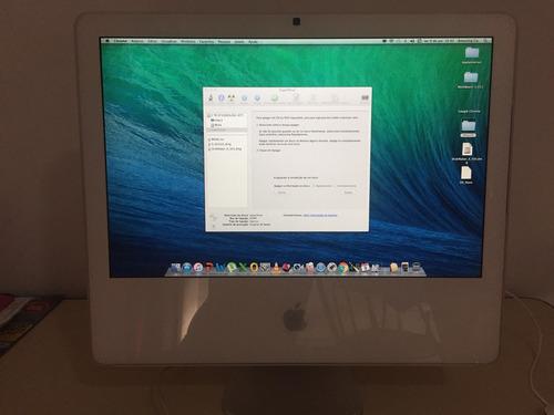 apple imac 20  a1207, intel core 2 duo 2.16ghz, 4gb, hd 1tb