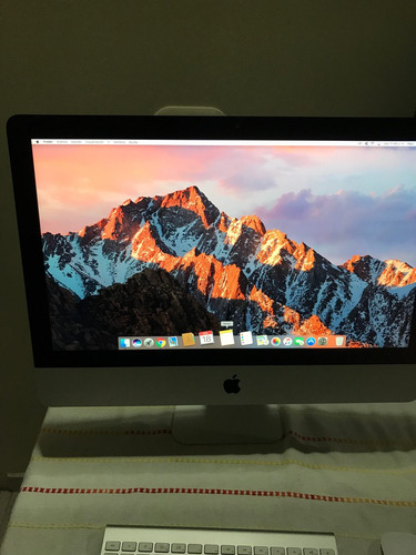 apple imac 21,5 core i5 8gb ram 2014