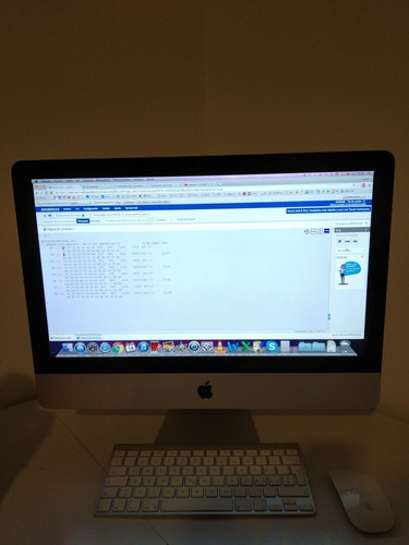 apple imac all in one  21,5 intel core i3 del 2010 impecable