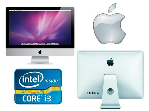 apple imac core i3 21,5   a1311  meados 2010 8g 1 tera hd