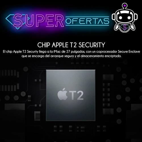 apple imac core i5 5k retina 27 pul + 512ssd + modelo 2020 !