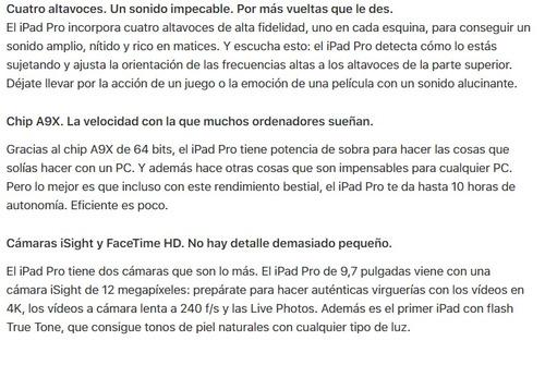 apple ipad 9.7 pro  32g wifi + 4g celular chip a9 oferta!!!