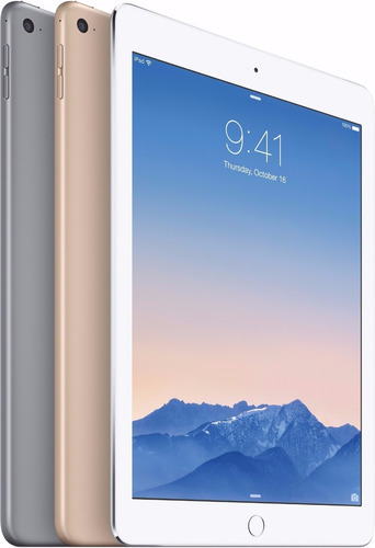 apple ipad air 2 32gb +4g 1 ano de garantia novo lacrado nfe
