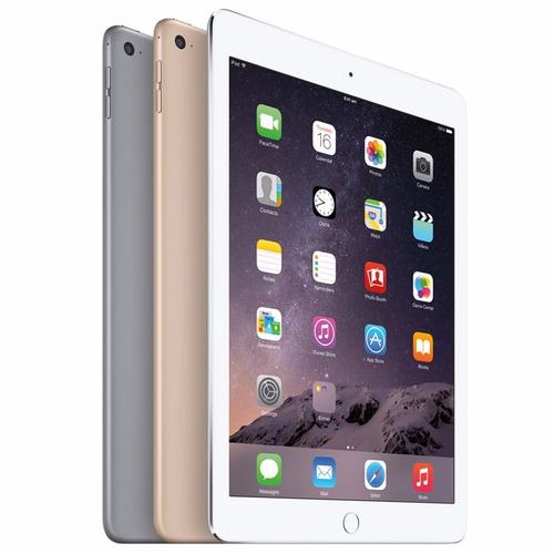 apple ipad air 2 com conexão wi-fi prata / silver 128gb