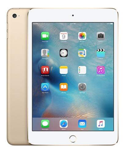 apple ipad mini 4 16gb wifi + 4g dorado - garantía oficial