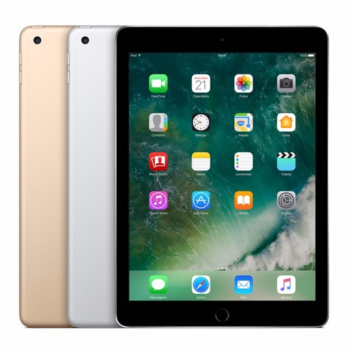 apple ipad new 128gb 2017 nf novo lacr 12x sj envio 24 horas