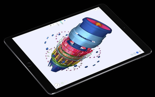 apple ipad pro 10,5 wifi + 4g space gray -  impecável