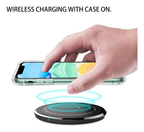apple iphone 11 carcasa shockproof reforzada leeu