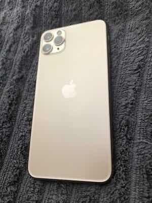 apple iphone 11 pro max 512gb gold colour