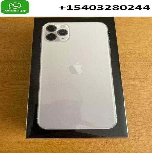 apple iphone 11 pro max - 512gb - silver (unlocked) a2218