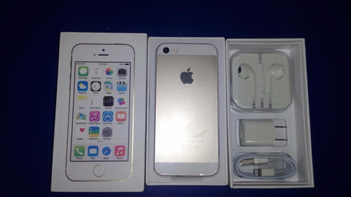 apple iphone 5s  16 gb liberado nuevo