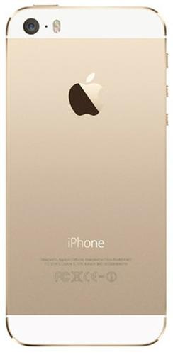 apple iphone 5s 16gb gold dourado original nacional vitrine