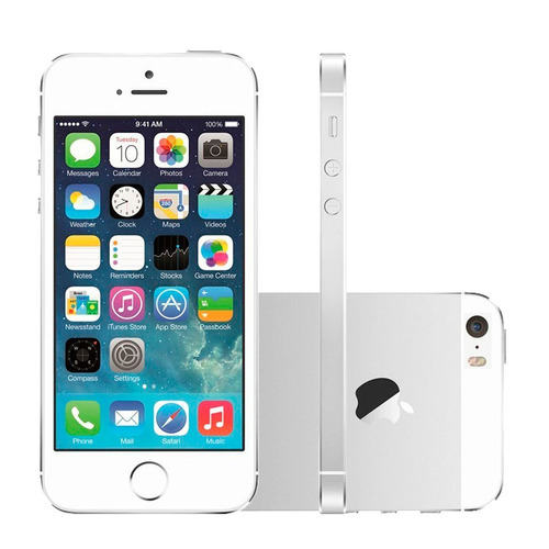 apple iphone 5s 16gb silver original nacional vitrine
