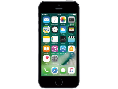 apple iphone 5s 32gb anatel 8mp 4g lacrado 1 ano de garantia