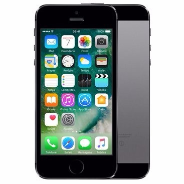 apple iphone 5s 32gb cinza 8mp original nacional +nf