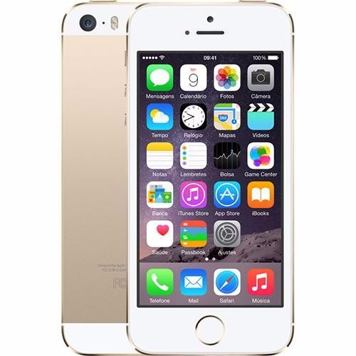 apple iphone 5s 32gb desbloqueado wifi semi novo