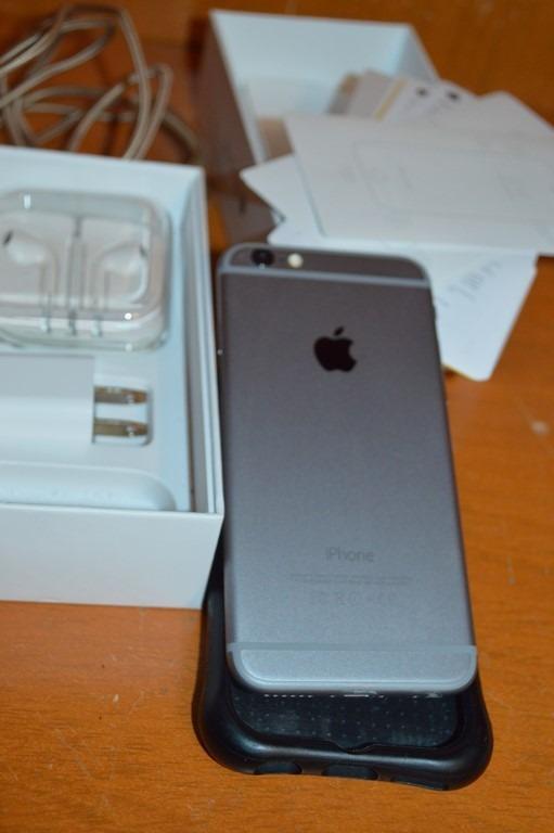 apple iphone 6 16gb caja garantia ticket ishop gris 6 en mercado libre. Black Bedroom Furniture Sets. Home Design Ideas