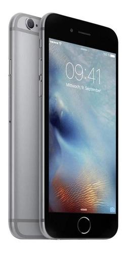 apple iphone 6 16gb liberado estetica 9.5-10 + earpods + cargador + cable lightning + mica de cristal