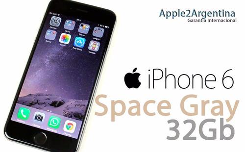 apple - iphone 6 32g en caja 4g liberado garantia envios (a)