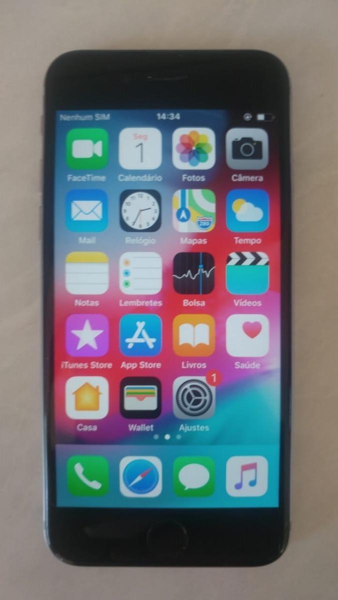 96bf36bf32 apple iphone 6 32gb usado original preto desbloqueado oferta. Carregando  zoom.
