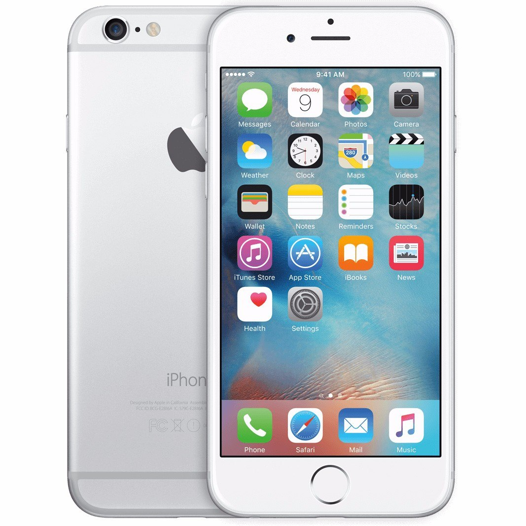 iphone 6 64gb apple iphone 6 64gb 4g silver semi novo pronta entrega 11278