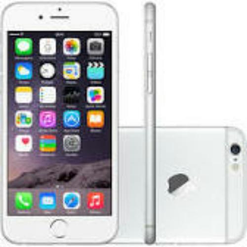 apple iphone 6 64gb desbloqueado + película protetora e capa