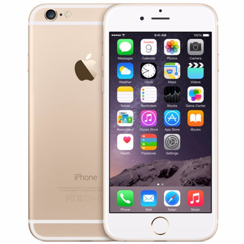 apple iphone 6 64gb gold semi novo c/ caixa - pronta entrega