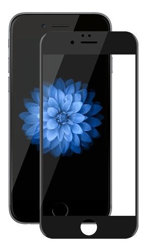 apple iphone 6 / 6s lámina vidrio templado full fingerprint