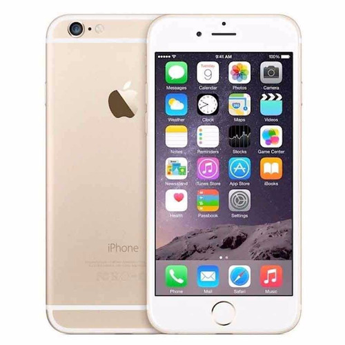 apple iphone 6 de 16gb gold refurb cam 8mp sens huellas nfc