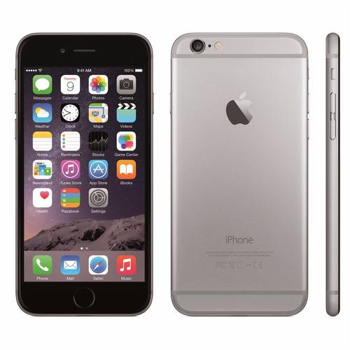 apple iphone 6 de 16gb gray refurb cam 8mp sens huellas nfc