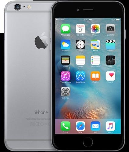 apple iphone 6 de 16gb gray refurbish cam 8mpx nfc s huellas