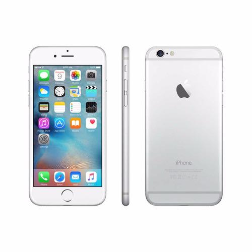 apple iphone 6 de 16gb silver refurb cam 8mp sen huellas nfc