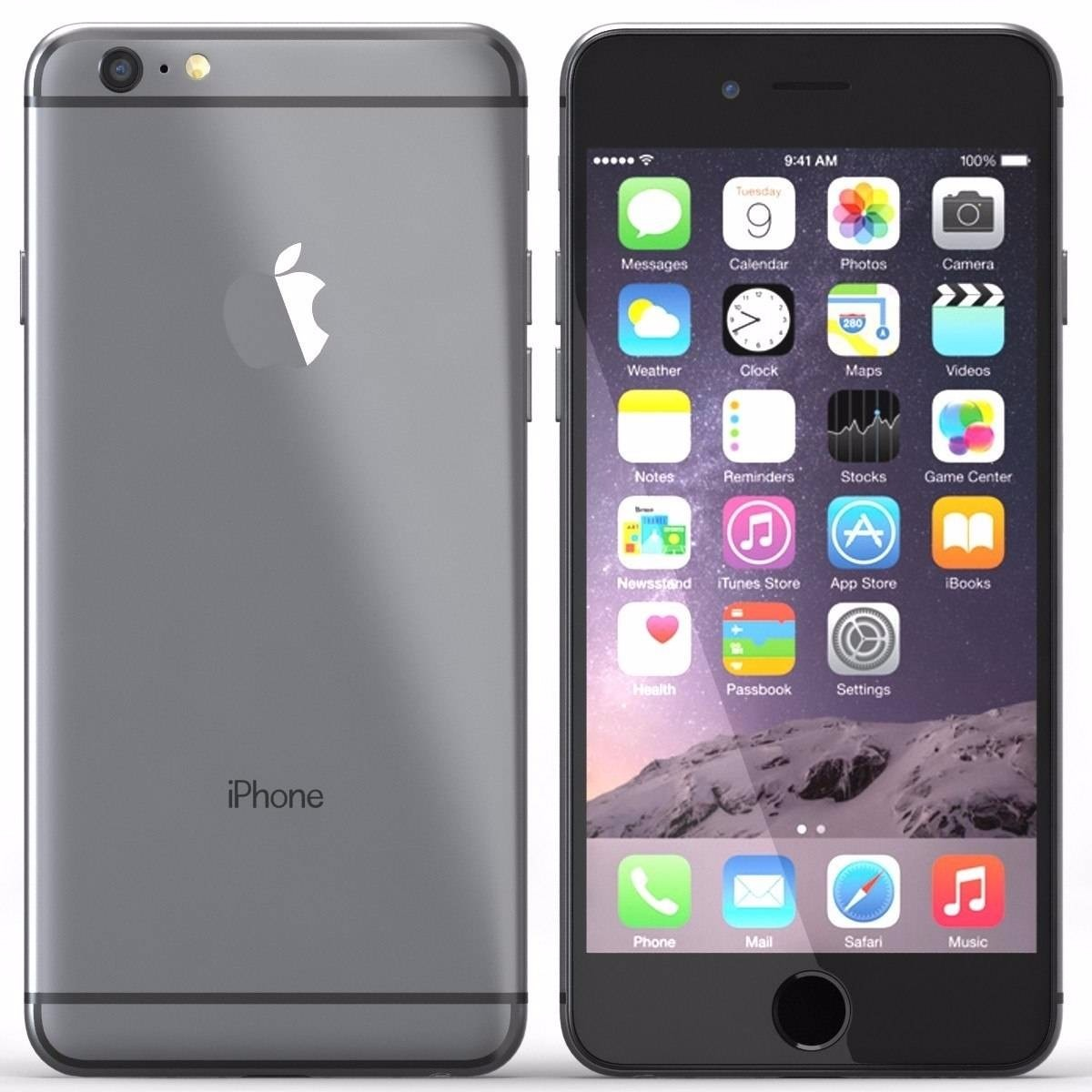 c4085bc3e apple iphone 6 plus 128gb cinza - só funciona oi - retire sp. Carregando  zoom.