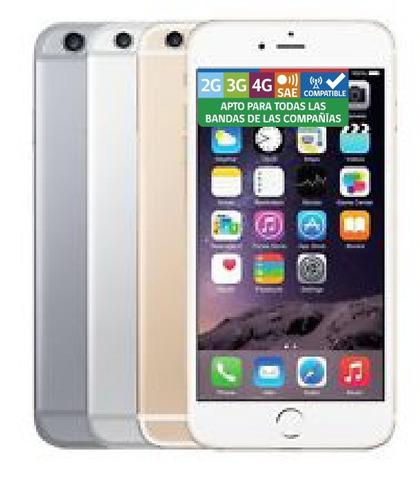 apple iphone 6 plus 16gb + lamina y carcasa - phone store