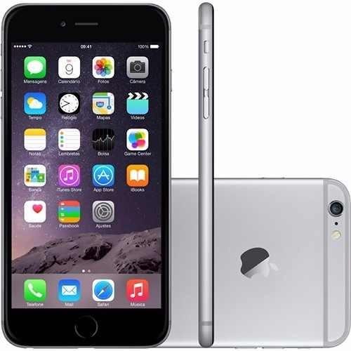 apple iphone 6 plus 16gb space gray original anatel