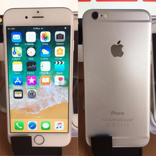 apple iphone 6 - space gray - blanco