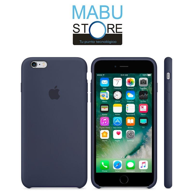 f89f1c602f3 apple iphone 6/6s plus case silicona midnight blue original. Cargando zoom.