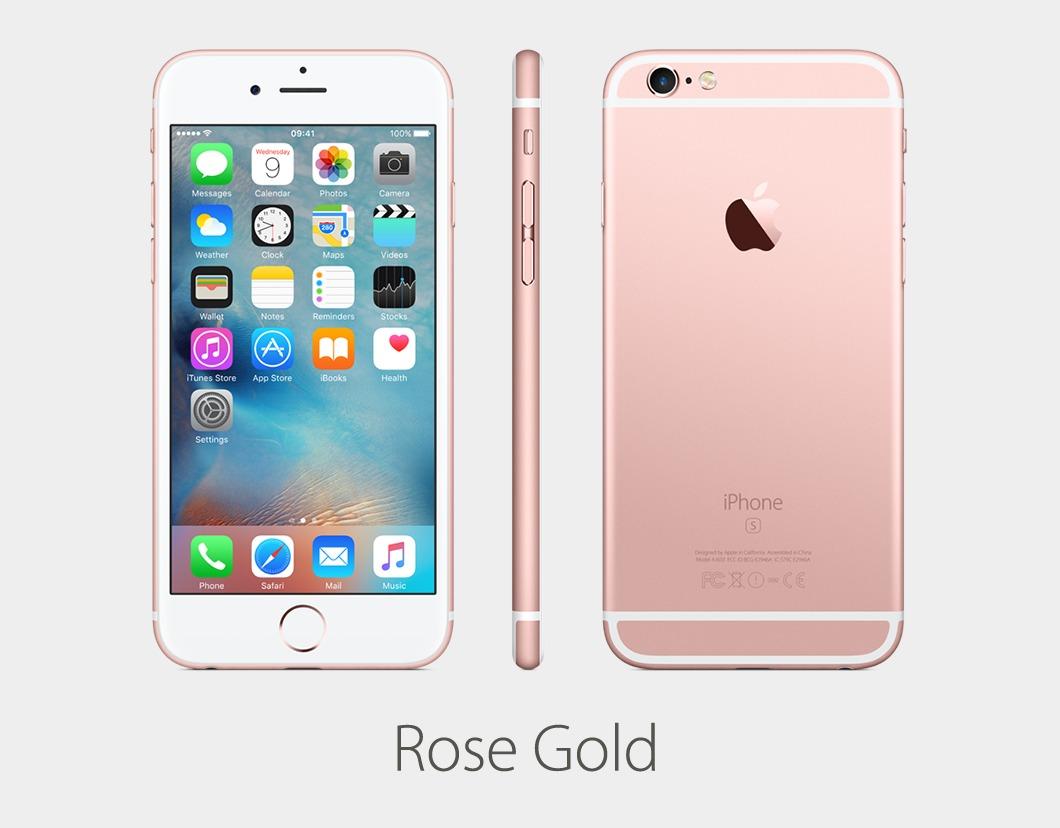 apple iphone 6s 16gb modelo nacional rose gold 6 s tela 4 7 r em mercado livre. Black Bedroom Furniture Sets. Home Design Ideas