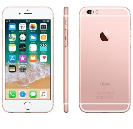 apple iphone 6s 64 gb ouro rosa
