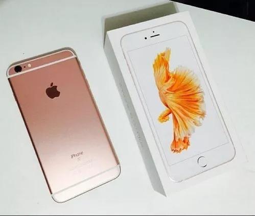 apple iphone 6s + 64gb desbloqueado + original
