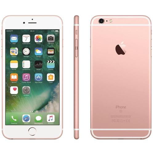 apple iphone 6s 64gb vitrine nf-e + capa brinde leia anuncio