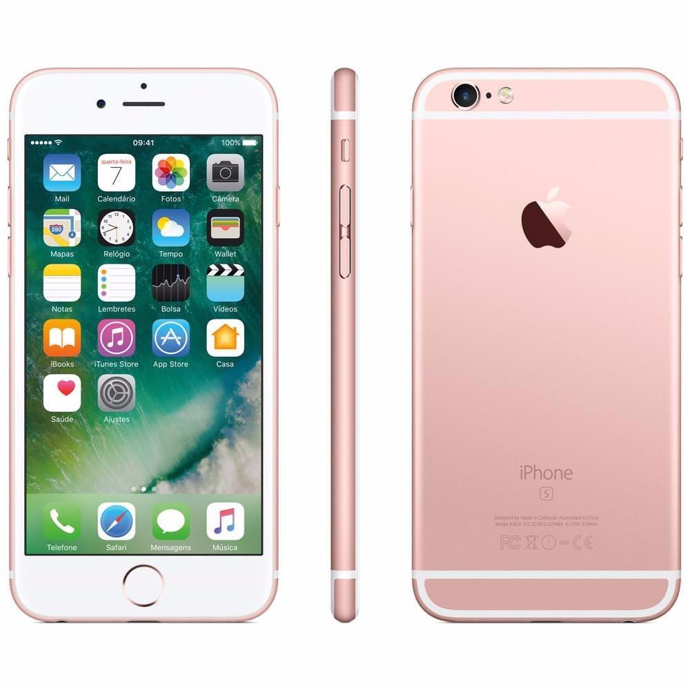 591606d47 apple iphone 6s plus 64gb novo!! 1 ano garantia original nf. Carregando zoom .