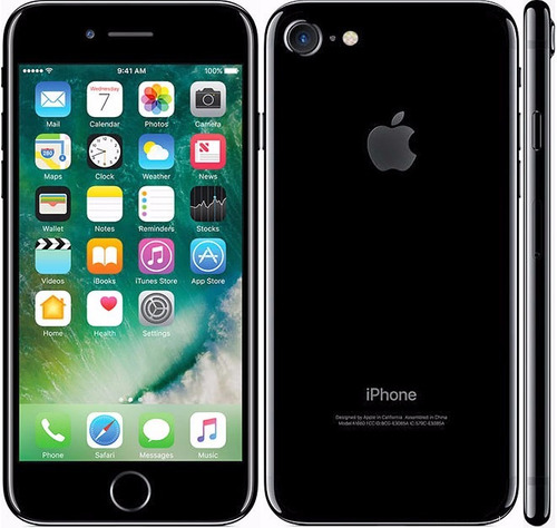 apple iphone 7 128gb 4.7' retina 12mpx 4k a10 resistente